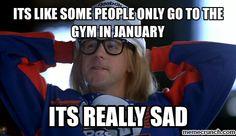 Like gym memes and g