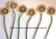 Rincón de una maestra: Los girasoles