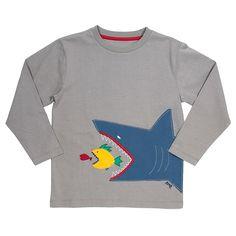 Kite longsleeve Scary sealife   www.EKOdePEKO.nl = bio + eerlijke + duurzame kinderkleding