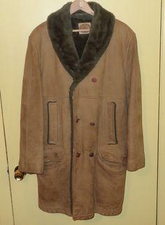 J. Press Ivy League Suede, Lined Long coat.