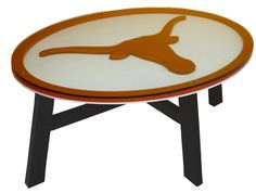 NCAA Texas University of Texas Logo Coffee Table
