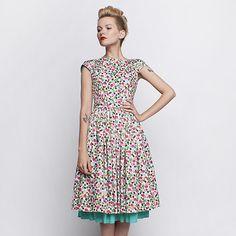 Peggy w kropeczki w Szyjemy Sukienki na DaWanda.com
