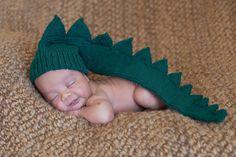 baby alligator costumes | Baby Infant Newborn dinosaur dragon crocodile alligator green hat ...