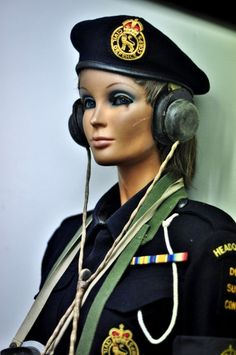 Nuclear bunker mannequins
