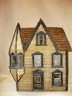 Antique Handmade Victorian Dollhouse. Live auctioneers.  .....Rick Maccione-Dollhouse Builder www.dollhousemansions.com