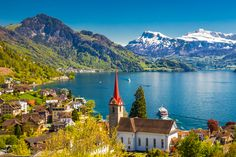 If you end your Rhine river cruise in Basel, it's only a short trip to tranquil Lake Lucerne and it's definitely worth it!