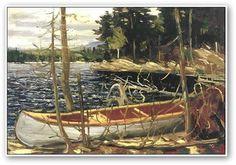 Tom Thomson - The Canoe 1912