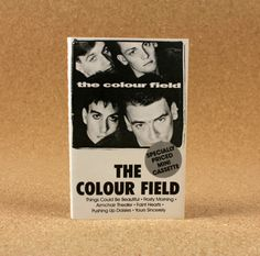 The Colour Field  The Colour Field Cassette Tape  by N2THEATTIC