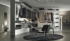 Aménager un dressing ouvert dans une chambre ultra moderne