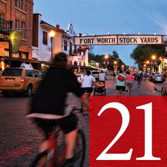 21. Be a tourist in your own town - great list of things to do in Fort Worth