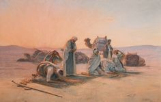 OTTO PILNY 1866-1936 SWISS PRAYERS AT SUNSET signed and dated OTTO PILNY / 1906 lower right oil on canvas 118 by 183cm., 46½ by 72in.