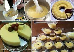 Step By Step Langkah Membuat Puding Mentega Coklat