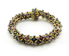 English Garden Bracelet Bead Weaving Kit