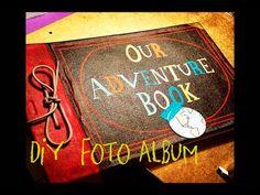 Haz el Album de Aventuras de la Película Up - DIY MY ADVENTURE BOOK from Up - YouTube