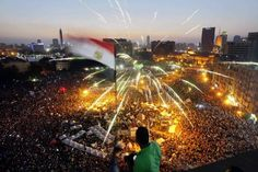 Egyptians mass in Cairo's Tahrir Square