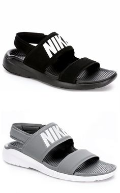 Description: Nike Tanjun Women's Sandal Add an athletic twist to your spring and summer look in the Tanjun women's sandal from Nike. A soft neoprene upper creates a dry, comfortable fit along with an