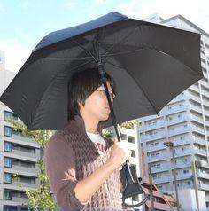 ถึงเวลาที่ร่มจะไม่ใช่แค่เพื่อกันฝนเท่านั้นที่ญี่ปุ่น