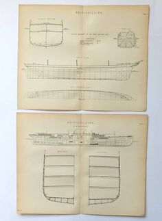Shipbuilding, Two Prints of Shipbuilding £20