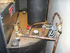 Instalación de chimenea de leña
