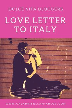 February is the month of love. I'm sharing my love for Italy with a special letter, you can read it on my blog.  This blog post is part of Dolce Vita Bloggers. We are a group of bloggers sharing our thoughts on Italian culture.  #dolcevitabloggers #italybloggers