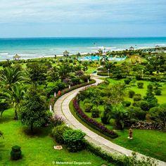 Caspian Sea, Mahmood-abad Beach, Mazandaran province, #Iran (Persian: مجتمع شرکت نفت - محمودآباد, مازندران) Credit: Mohammad Zargartalebi