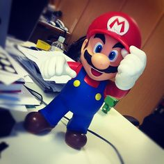 Eu quero LOL  Mariooo!
