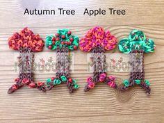 Rainbow Loom Trees