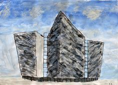 Ruby Rebbeck, age 7, took 2nd Place of the EHOD Children's Art Competition 5 - 7 age group with a drawing of the Titanic Centre