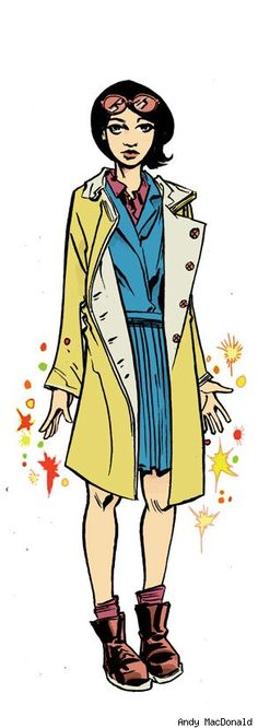 Andy MacDonald Fashions New Looks for the X-Men