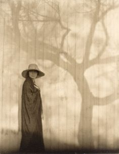 "☽ Dream Within a Dream ☾ Misty Blurred Art Fashion Photography - Edward Weston, ""Prologue to a Sad Spring (Margrethe Mather),"" 1920"