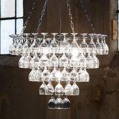 Wine Glass Light #wine