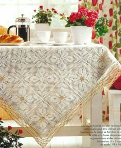 Page 1 of 2 * Two-Tone Tablecloth (Advanced pattern)