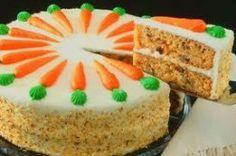 HONEY CARROT CAKE - Low Calorie Recipe