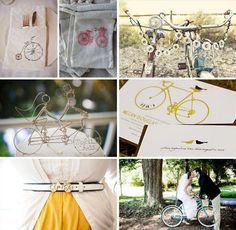 {Wedding Themes} Vintage Bicycles · DIY Weddings