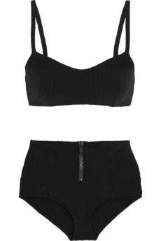 1becc9560dc4b Lisa Marie Fernandez Genevieve seersucker bikini