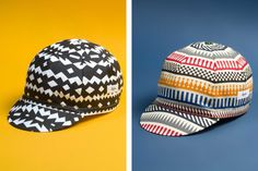 Cycling label Rapha has teamed up with iconic design firm Herman Miller for an cap collection in honor of the 2016 Amgen Tour of California. Rapha Cycling, Cycling Wear, Push Bikes, Texture Design, Herman Miller, Cool Bikes, Hats For Men, Icon Design, Bunt