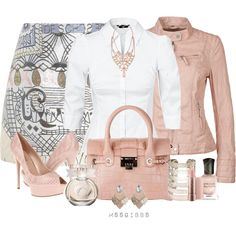 """Sping Pastel Leather"" by mssgibbs on Polyvore"