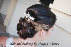 Hair and makeup by Morgan Watson Professional Hair and makeup artist Temecula Valley weddings #temeculaweddings #Airbrushmakeup  Hairandmakeupbymorganwatson.com