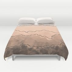 Blush Duvet Cover by swavstudio Bedtime, Mattress, Duvet Covers, Blush, Furniture, Home Decor, Decoration Home, Room Decor, Rouge