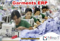 Ready Made Garments (RMG) sector has emerged as the biggest earner of foreign currency in Bangladesh. In this sector time is money. So for the proper maintenance of the time and to execute your production plan perfectly Pridesys IT Ltd. presents you the #Pridesys_Garments_ERP. A total automated solution for Garments Industries.