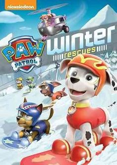 PAW PATROL:WINTER RESCUES