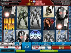 Iron Man is back, and he is more powerful than ever!.. read more http://www.freeslots.jp/free-games/playtech/iron-man-2/