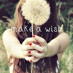 Faça um desejo aproveite a chance! Bom Final de semana!!!