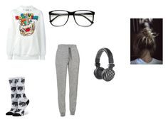 """""""Untitled #253"""" by weirdobutfun ❤ liked on Polyvore featuring Moschino, Icebreaker, Stance and ZeroUV"""
