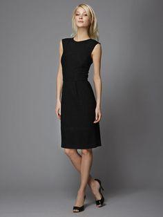 wool-boucle-shift-dress