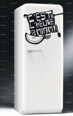 Vente ambiance l 39 esprit d co 11727 musique et lettrage - Stickers frigo 2 portes ...