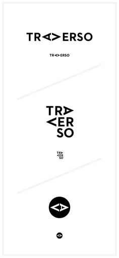 TRAVERSO - visual identity | typography / graphic design @ Corporeal Landscapes |