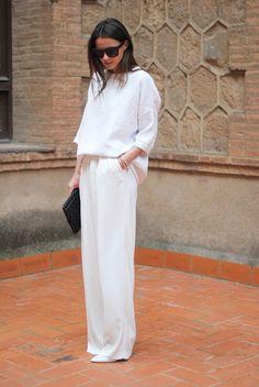 All white everything! #Fashiolista #Inspiration