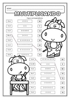 Discover thousands of images about This game sheet is from my Multiplication No Prep Games FREEBIE. It has the players search for a line of 3 numbers that can be used to create a multiplication equation. 3rd Grade Math Worksheets, Math 2, Math Multiplication, Fun Worksheets, 1st Grade Math, Math Games, Math Activities, Math Exercises, Math Charts