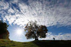 Início do outono no norte gerou belas paisagens em outubro